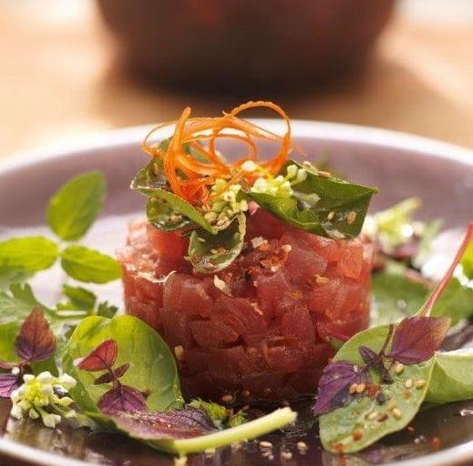 Thunfisch, Reisessig, Koriander Sehr gute Kombination Triller